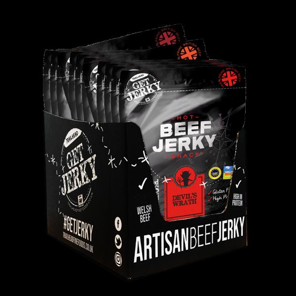 The Hot Ones Beef Jerky Box